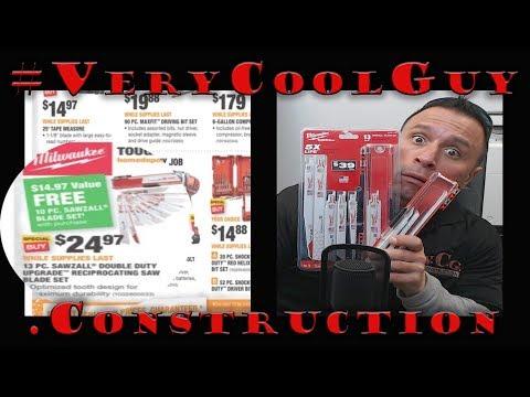 Home Depot Spring Black Friday Savings 2018 Milwaukee Tool Deals