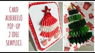 Lavoretti Di Natale Arte Per Te.Bigliettino Albero Di Natale Pop Up Facilissimo Riciclo Creativo Arte Per Te Youtube