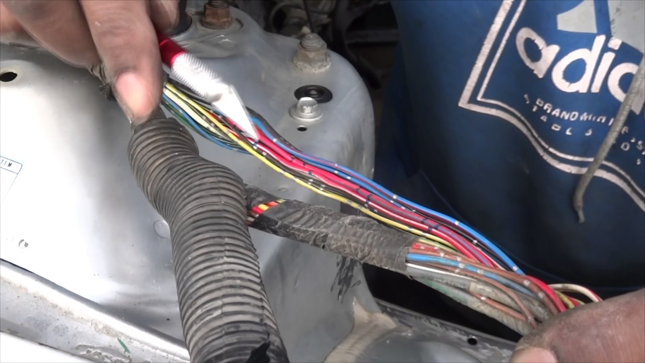 Tip How To Remove Wiring Harness Insulation Youtube Dc2