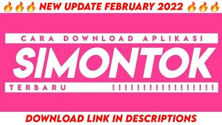 Download Video Cara download aplikasi SIMONTOK | Terbaru 2019 !!! MP3 3GP MP4