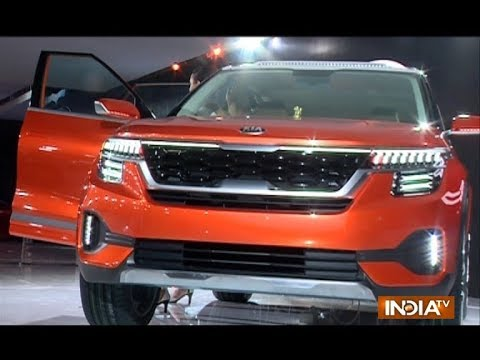 Auto Expo 2018 Kia Motors Makes A Debut With The New Sp