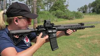 Gambar cover Anne Mauro Shoots the new DI-ADEM rifle from LWRCI