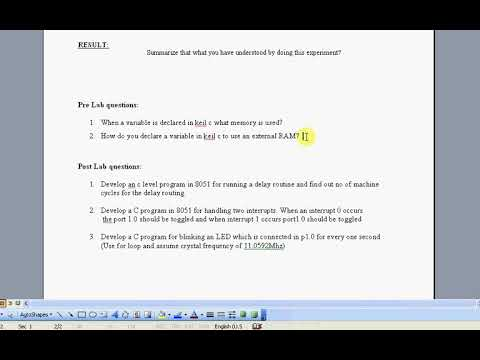 7 EXP7 Realization of hardware interrupts ASM by DR K HARIHARAN