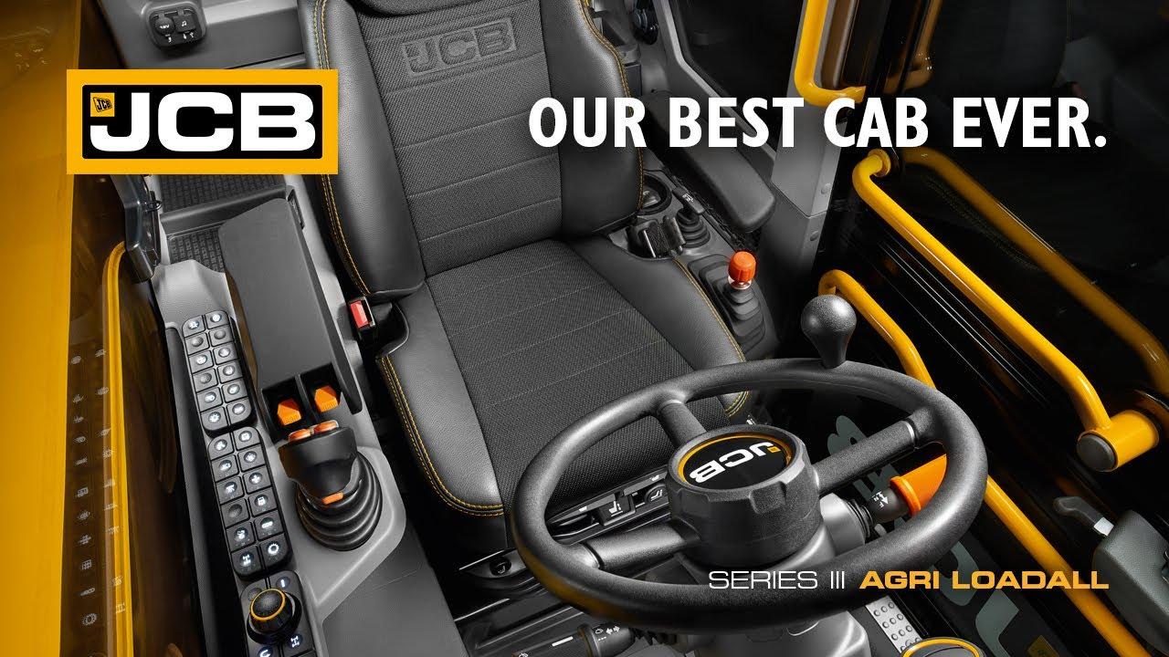Our Best Cab Ever - JCB Series 3 AGRI Loadall Telescopic Handler ...