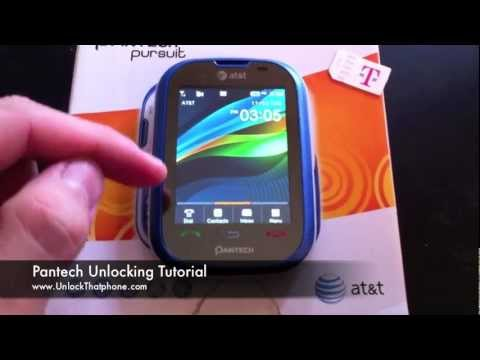 "How To Unlock Pantech Phone - Locate IMEI and Update data / Remove ""Sim Locked"" message"