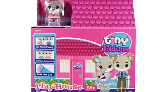 Tiny Tukkins Play House Set Unboxing Toy Review