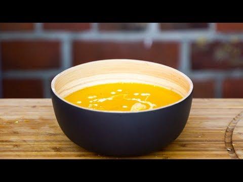 Geröstete Kürbissuppe – leichte Herbstküche