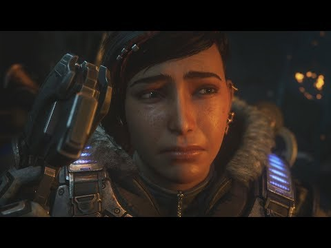 Gears 5 - Kait Finds Out Her Ties To Queen Myrrah And Reyna
