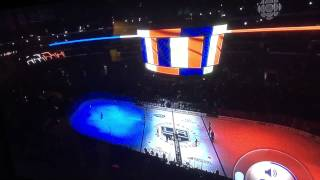 Moment of silence INTERRUPTED AT LA Kings Game!