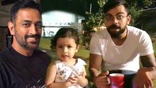 Virat Kohli's CUTE Video With MS Dhoni's Daughter Zeva
