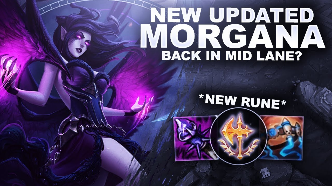 site réputé 0cadd f0865 *NEW* UPDATED MORGANA! BACK IN MID LANE? | League of Legends