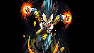 DBZ Vegeta Powers Up theme