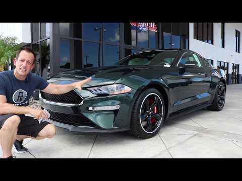 Why do I LOVE driving the  Ford Bullitt Mustang? - Raiti&#;s Rides
