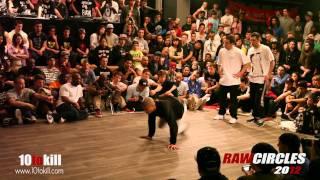 Lagaet & Bruce Almighty Vs Sambo & ray - Semi Final - RawCircles 2012