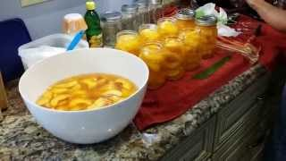 Canning  Peaches In Sc ...yummy