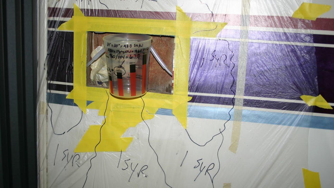 RV Motorhome Camper DIY fix for delamination & water