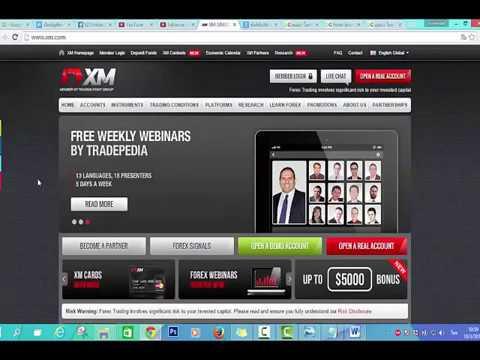 เปิดบัญชีเทรด Forex โบรก XM รับ 30$ ฟรี   YouTube