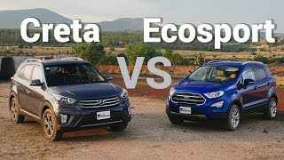 Ford Ecosport VS Hyundai Creta - Frente a frente Video
