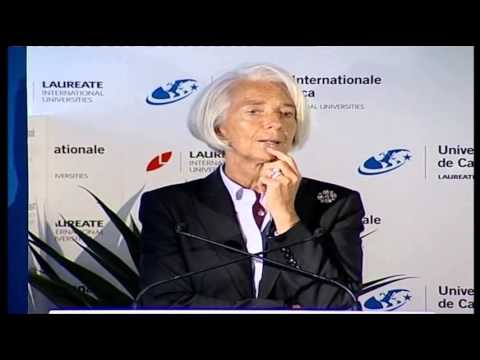 UIC - Mrs Christine Lagarde meets with UIC students