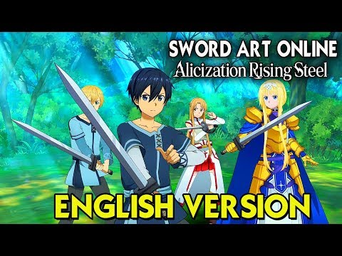 Sword Art Online: Alicization Rising Steel - English Version Gameplay (Android/IOS)