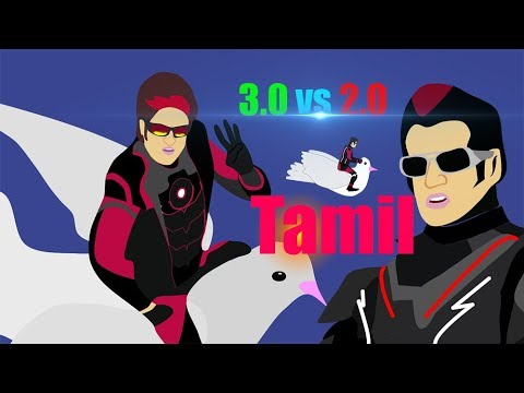 3.0 Vs 2.0 Spoof Animated Version  Tamil - Kalai's Creations