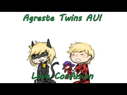 [Miraculous Ladybug Comic Dub] Agreste Twins AU! | Love Confusion