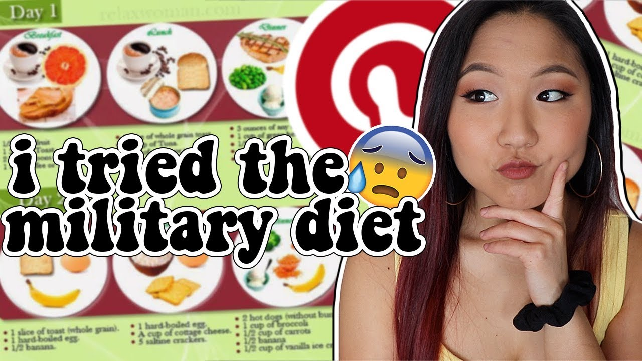 I TRIED A MEAL PLAN FROM PINTEREST AND THIS HAPPENED