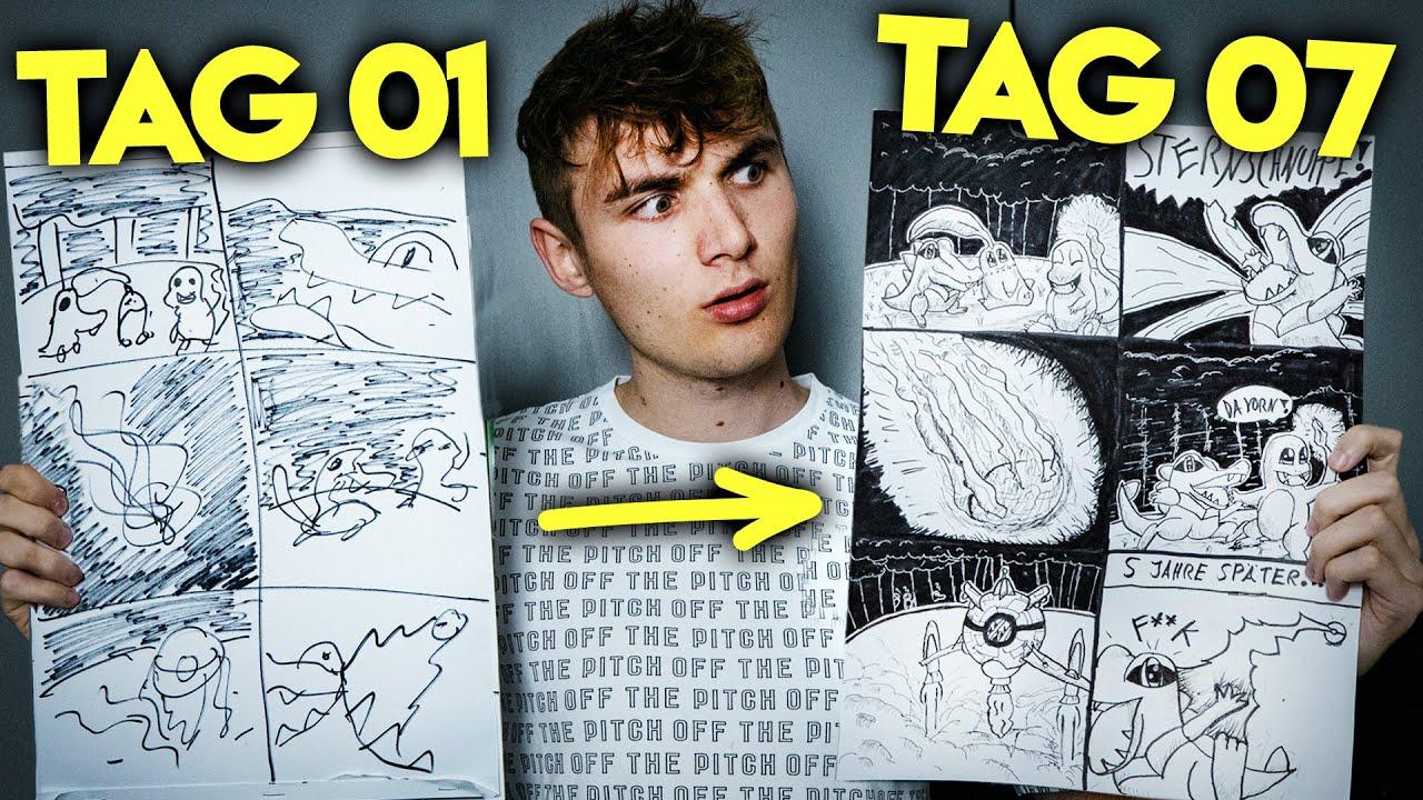 Download COMIC ZEICHNEN lernen in 1 WOCHE mit @Falco