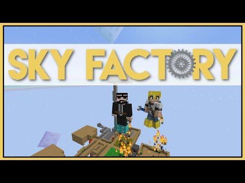 Simply Jetpacks - Minecraft Skyfactory 2.5 - Ep 32 [Let's Play Sky Factory 2.5]