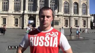 Torino 2013 World Masters Games Российский штангист. NET