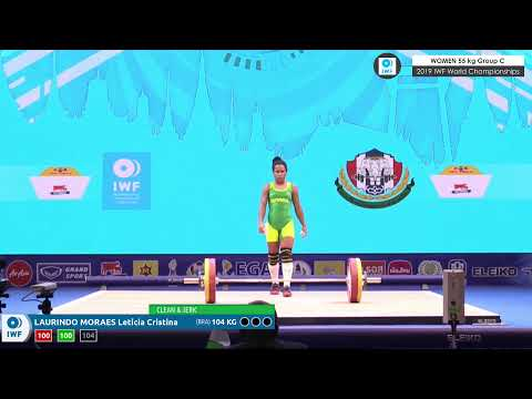 2019 IWF World Championships Day 2 WOMEN 55 kg Group C
