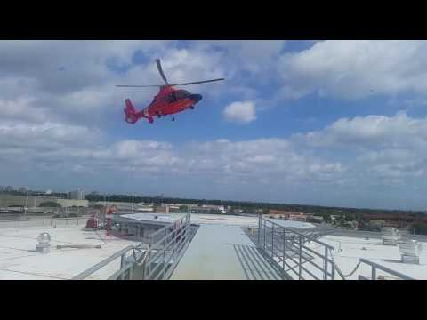 US coast guard trauma alert!