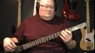 Huey Lewis & The News I Want A New Drug Bass Cover with Notes & Tablature