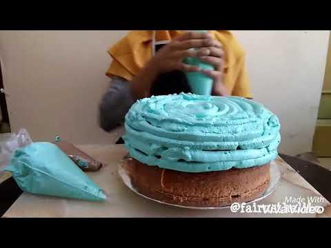 Cara menghias kue tart yang mudah dan cantik tosca flowers cake