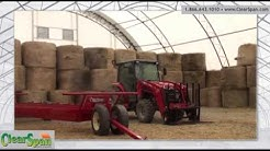Freeville, NY Youth Facility Utilizes Hay Storage Building from ClearSpan Fabric Structures