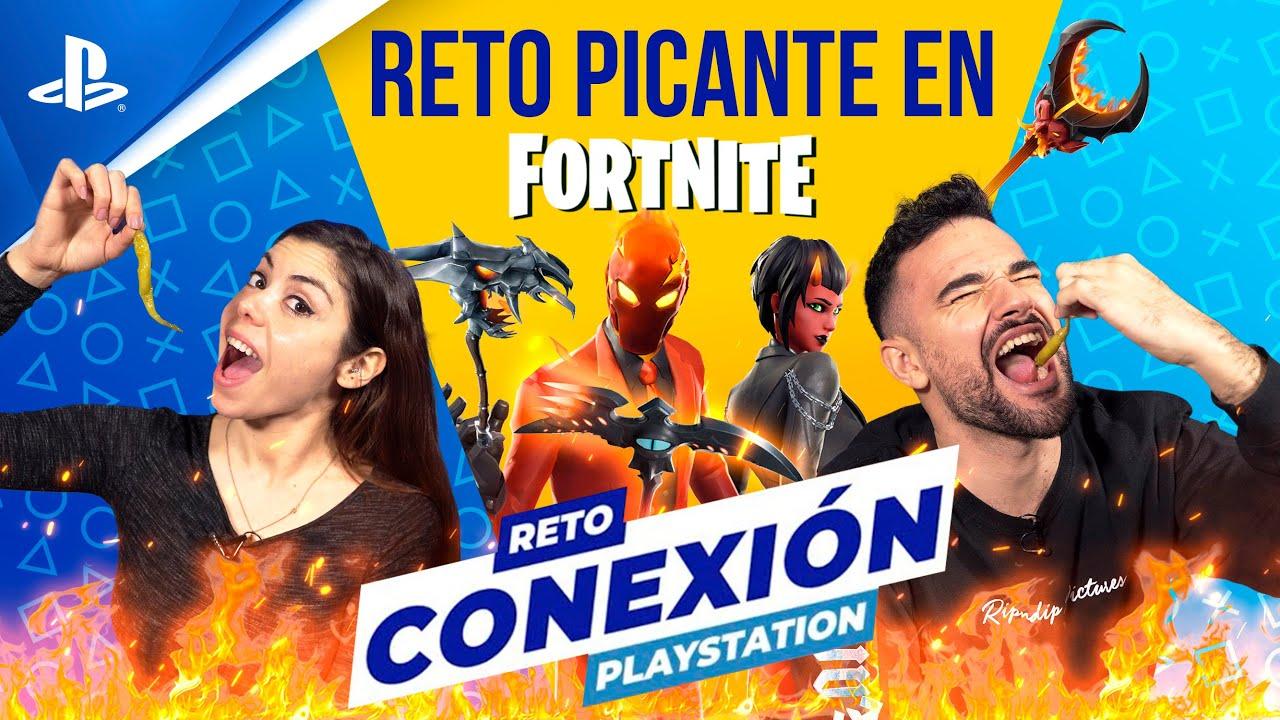 El reto MÁS PICANTE en Fortnite con Albi HM y LMDShow | PlayStation España