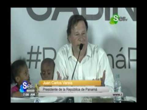 SERTV Juan Carlos Varela, Presidente de la RepúblicaConsejo de Gabinete en Juan Díaz
