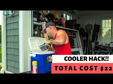 GENIUS COOLER HACK | $22 Bucks