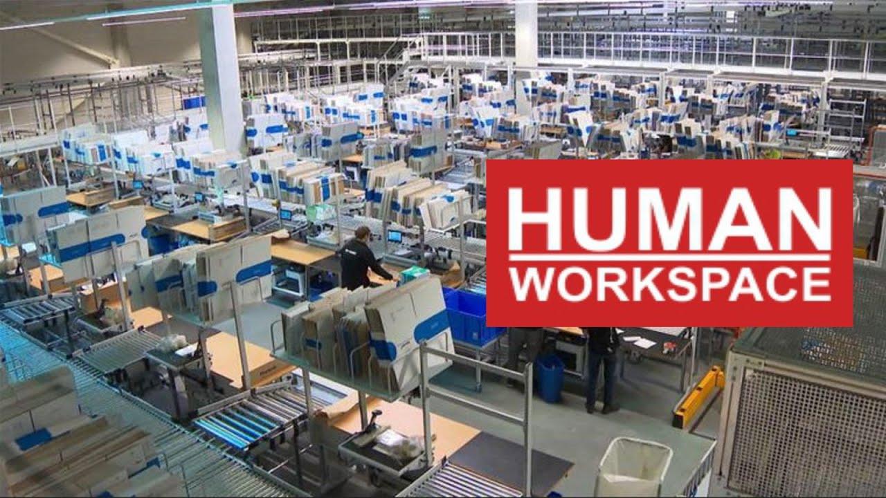 Treston Concept werktafels bij het bol com Fulfilment Center