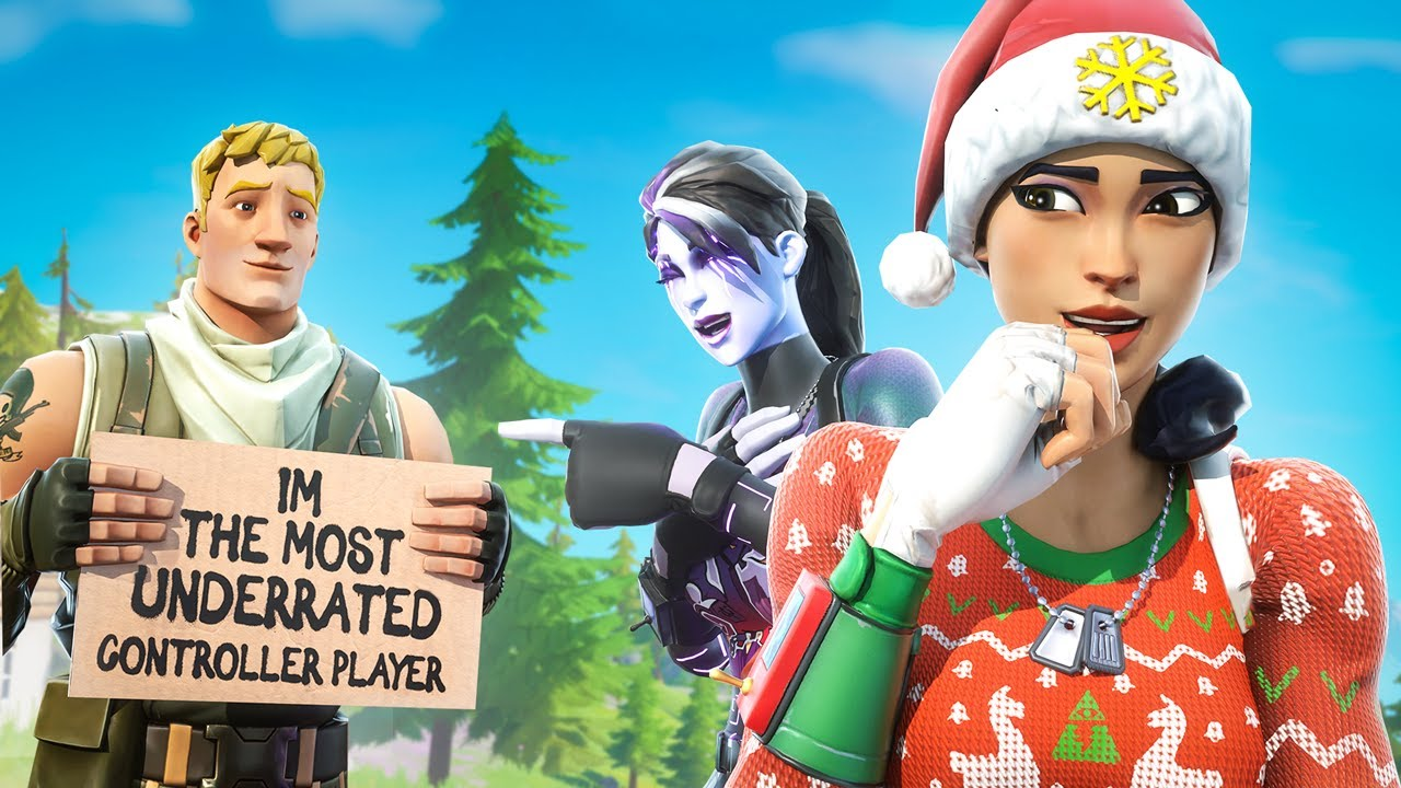 Best Underrated Fortnite Players Pretty Sure Im Underrated By Notdc