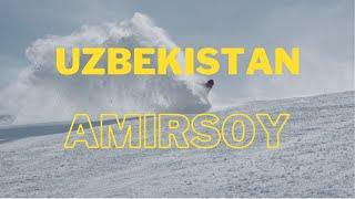 Сноубординг в Узбекистане на курорте AMIRSOY