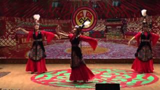 Эсимде. Самый красивый танец Манастын кыздары бий тобу