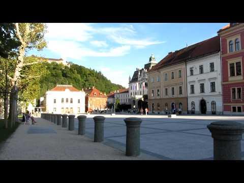 Square in Ljubljana, Slovenia