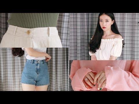 🦄 여름 패션 하울 / 데일리룩 Daily Look / 쇼핑몰위주 / Ood 오드