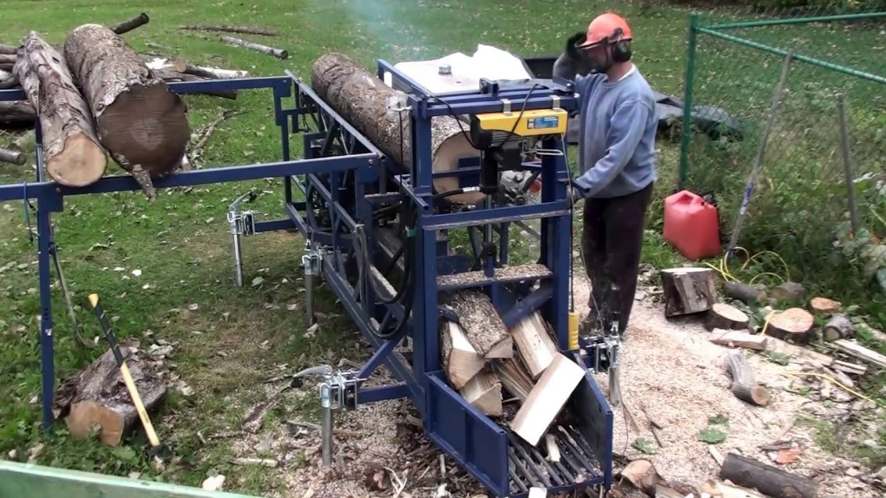 Homemade Firewood Processor Update Youtube