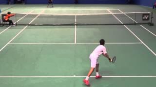 Gengo Kikuchi (JPN) #4 Tennis Japan League 2016