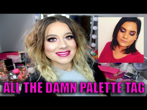 ALL THE DAMN PALETTE TAG   Collab With Karen Harris
