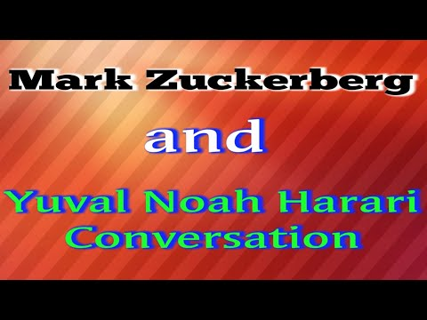 Mark Zuckerberg & Yuval Noah Harari Conversation | Extraordinary TECH