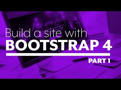 Build a website with Bootstrap 4 - Part 1: The setup