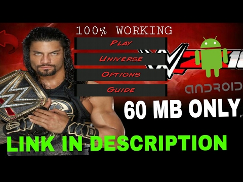 How To Download WWE 2K18 Mod In Wrestling Revolution 3d/WR3D Game Android With Link